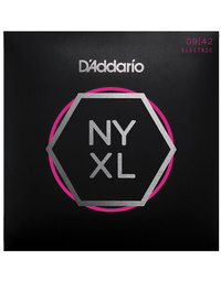 D'ADDARIO NYXL SUPER LITE 9-42 ELECTRIC GUITAR STRINGS