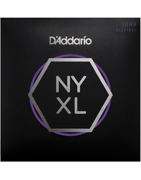 D'ADDARIO NYXL MEDIUM 11-49 ELECTRIC GUITAR STRINGS