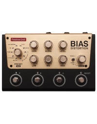 BIAS Distortion Pro - 4 Button Pedal