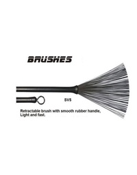 Percussion Plus Retractable Wire Brushes