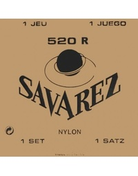 Savarez 520R Traditional Red High Tension Classical Strings