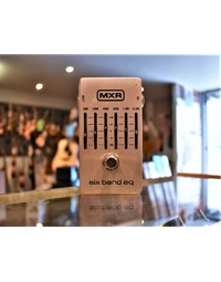 Used MXR 6-band EQ