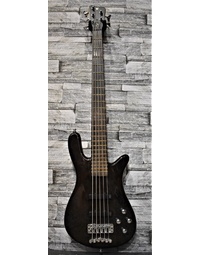 Used Warwick Pro Series Streamer LX 5 Nirvana Black Transparent Stain