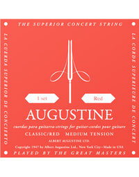 Augustine Red Label Medium Tension Nylon Strings