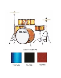 DXP JUNIOR PLUS DRUMKIT BLACK