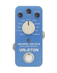 VALETON CORAL ECHO DIGITAL DELAY PEDAL