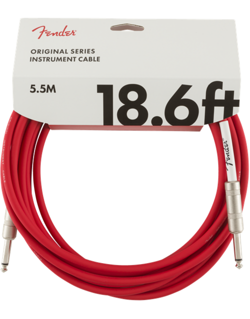 Fender Professional Tweed Cable 5,5m RED